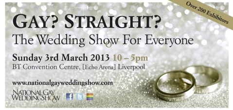 National Gay Wedding Show flyer